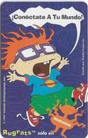 Peru - Telefónica - Nickelodeon, Cable Mágico, Rugrats (Screaming Boy), 20+2 S., 09.1997, Used - Pérou