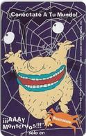 Peru - Telefónica - Nickelodeon, Cable Mágico, Monstruos!!, 20+2 S., 09.1997, Used - Pérou