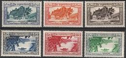 Laos 1951 N° 1-6 NMH Les Vues Du Roi Sisavang Vong  (G5) - Laos