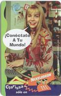Peru - Telefónica - Nickelodeon, Cable Mágico, Clarissa, 20+2 S., 09.1997, Used - Peru