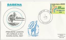 SABENA - Airbus A310 - Première Liaison - Benin - Avions
