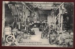 Paris Atelier De Montage Des Dynamos - Compagnie Universel Electric 35 Rue De Bagnolet 75020 - électricité Usine - Arrondissement: 20