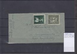 Deutsches Rech Michel Kat.Nr.  902 MiF Grün Frankatur - Lettres & Documents