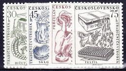 ** Tchécoslovaquie 1956 Mi 954-7 (Yv 844-7), (MNH) - Unused Stamps