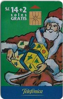 Peru - Telefónica - Santa Claus Christmas, 14+2Sol, 12.1999, 8.000ex, Used - Perú