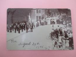 Card Photo_MILBORNE PORT_Sherborne_Celebration Day With Fanfare_posted 1905 - Otros