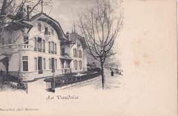 CPA La Vaudoise  (Suisse) Belle Villa  Rare  Ed Marmillod   Montreux    Dos Précurseur - VD Vaud