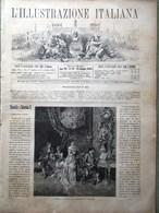 L'Illustrazione Italiana 25 Settembre 1881 Paisiello Manovre Riva Valdobbia Como - Vor 1900