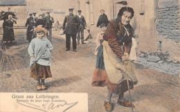 57 - METZ - Gruss Aus Lothringen - Souvenir Du Pays Haut (Lorraine) Série 107 N° 103 Nels,Metz. - Metz
