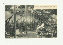 """11 - ESPERAZA - Industrie Du Chapeau  Mérinos """" Eugene ESPEZEL """" La Carderie Animée Signée Par Proprietaire Bon état - France"""