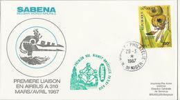 SABENA - Airbus A310 - Première Liaison - Niger - Avions