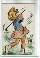 ça...c'est Envoye--Theme Golf- Paillettes -Ajouts -Systeme- Non Voyagee -TBE -Serie631- - Bouret, Germaine