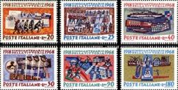 1968  - ITALIA - ANNIVERSARIO DELLA VITTORIA - 1097/02-  SERIE COMPLETA NUOVA MNH - 1946-.. République