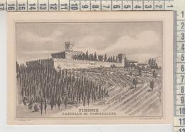Castelli Castle  Chateau Firenze Castello Di Vincigliata No Vg - Castillos