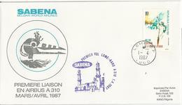 SABENA - Airbus A310 - Première Liaison - Togo - Avions