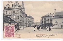 CPA Old Pc Tchequie Prostejov Street - Czech Republic