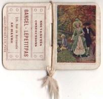 Calendrier Publicitaire 1920 : GANCEL -LEPETITPAS - Le Havre Nouveautés Confections - Tamaño Pequeño : 1901-20