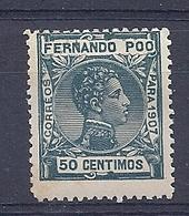 200034931  FERNANDO POO  EDIFIL  Nº 160N  */MH - Fernando Po