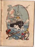 Calendrier  1943 : Image D'un Navire D'une Canonière - Calendriers