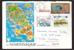 Wallis Et Futuna, 1994 Multifranked Cover To France       -CR89 - Covers & Documents