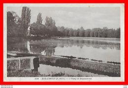 CPA (95) ROYAUMONT.  L'Etang De Royaumont...S1814 - Francia