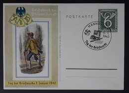 DR 1940, Postkarte P288, HANNOVER Sonderstempel - Allemagne