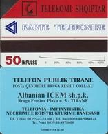 1/ Albania; Urmet, 50 Units - Albanie