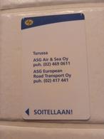 Finland Phonecard Turku P36 - Finlande