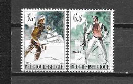 België 1964 Y&T Nr° 1296/97 ** - Unused Stamps