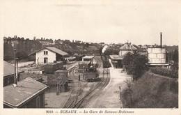 92 Sceaux La Gare De Sceaux Robinson Train Locomotive Wagon - Sceaux