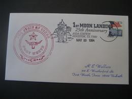 Vereinigte Staaten- US Navy The State Of Texas 1st Moon Landing - Sammlungen
