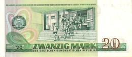GERMANY DEMOCRATIC REPUBLIC  P. 29a 20 M 1975 UNC - [ 6] 1949-1990 : GDR - German Dem. Rep.