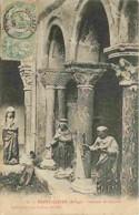 09 - Saint Lizier - Intérieur Du Cloitre - Art Religieux - Oblitération Ronde De 1906 - CPA - Voir Scans Recto-Verso - Autres Communes