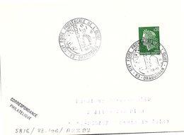 OLIVES  - 19e FOIRE PROVENCALE DE L'OLIVE 1.7.1972 DRAGUIGNAN 83    / 1 - Poststempel (Briefe)