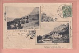 OLD POSTCARD - SWITZERLAND - SCHWEIZ -     ALP SCHRINA - KURHAUS HOCHRUCK - SG St. Gall