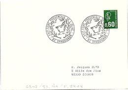 OLIVES  -  22e FOIRE PROVENCALE DE L'OLIVE 28.6.1975 DRAGUIGNAN 83    / 1 - Poststempel (Briefe)
