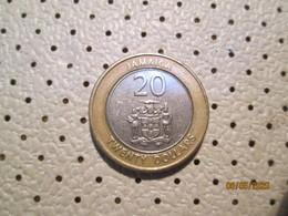 JAMAICA 20 Dollars 2001    # 2 - Jamaica