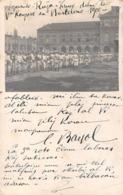 60 - BEAUVAIS - Carte Photo Esperanto Kongreso En Barcelone Croix Rouge Parque (Le Palais Royal) Kapitano BAYOL 51e IR - Beauvais