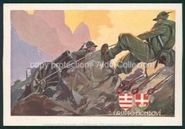 Militari  1 Reggimento Artiglieria Da Montagna Mondovi FG M332 - Non Classificati