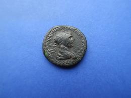 TRAJANUS   (98 -117) A.D.  -  AE DUPONDIUS  15,71 Gr.   -   ROME   114 AD - 3. Die Antoninische Dynastie (96 / 192)