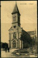 Cpa  Dourbies (30)  L'église ,   Animée - France
