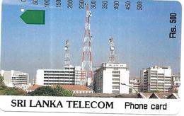 @+ Sri Lanka -  Telecom Building (Anritsu) - Ref : LK-SLT-ANR-0007A - Sri Lanka (Ceylon)