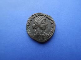 LUCILLA  -   (164 - 166) AD  -   AE Sestertius  26,44 Gr    -    ROME - 3. Die Antoninische Dynastie (96 / 192)