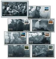 Stamps Canada 2020 - Group Of Seven: Set Of 7 Official First Day Covers - Omslagen Van De Eerste Dagen (FDC)