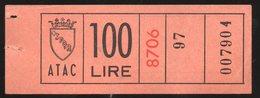 Biglietti Trasporto Pubblico ATAC - Europa