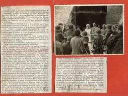 1937 Mariage Mlle Monique VAN BIERVLIET & M. Jean-Marie FRAEIJS DE VEUBEKE / Girl Guides Cardinal Mercier / Noblesse - Scouting