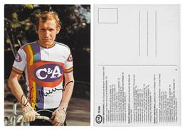 CARTE CYCLISME ROBERT MONTKIEWICZ TEAM C&A 1978 - Radsport