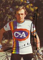 CARTE CYCLISME RENE DILLEN SIGNEE TEAM C&A 1978 - Radsport