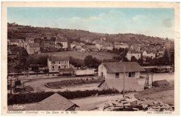 19 ALLASSAC - La Gare Et La Ville - Autres Communes