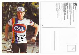 CARTE CYCLISME FRANK VAN IMPE TEAM C&A 1978 - Radsport